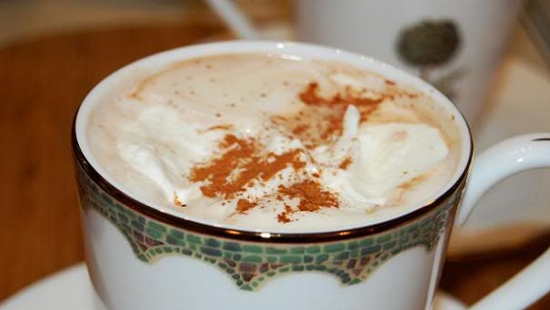 Chocolate-y Christmas Cafe au Lait