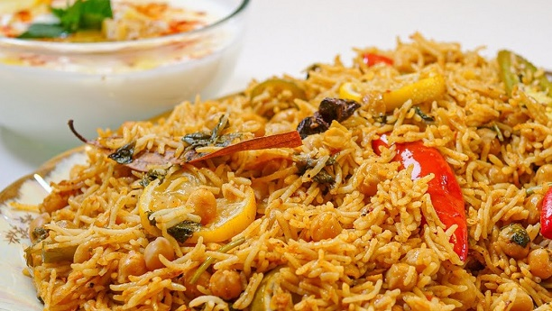 Cholay Biryani Recipe