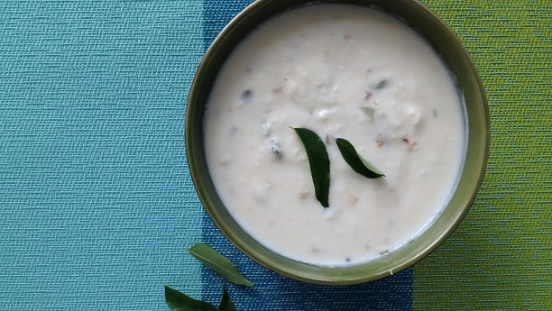 Coconut and Raisin Raita
