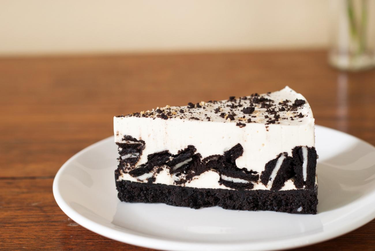 کوکیز اینڈ کریم چیز کیک