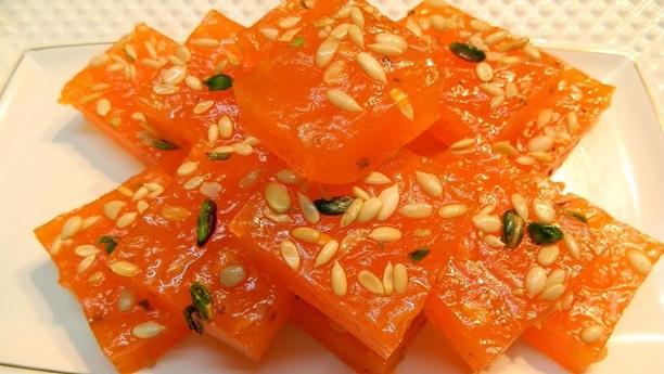 Cornflour Dessert (Bombay Halwa)