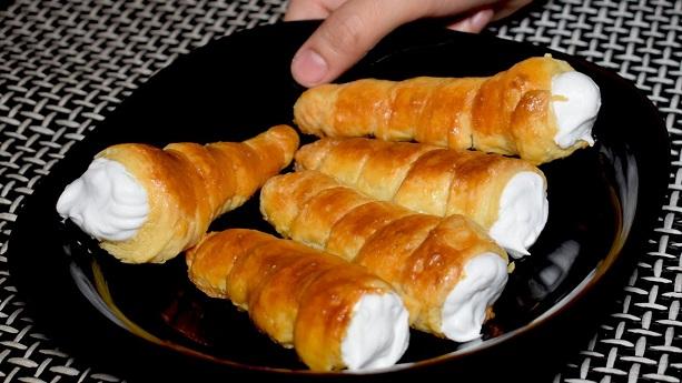 Cream Roll Recipe