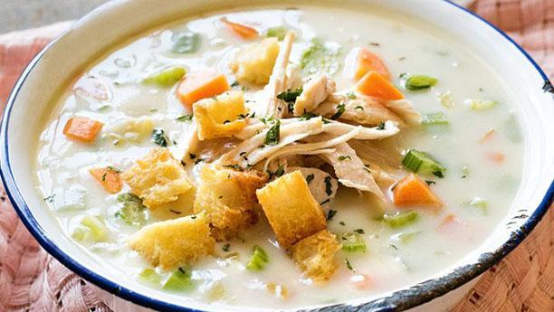 کریم آف چکن سوپ