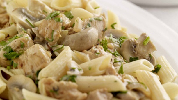 Creamy MushRooms And Pasta
