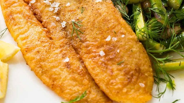 Crisp Panfried  Fish Fillets