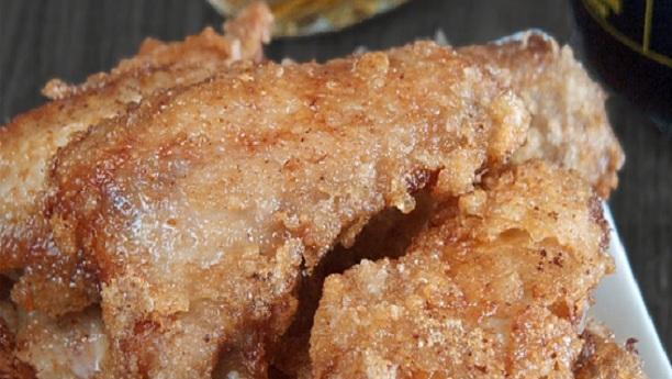 کرسپ اسپنچ وِد سیلیڈ <br/>Crisp Sponge With Salad