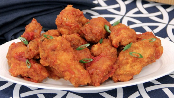 Crispy Hot Wings By Chef Zakir Recipe