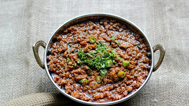 Curried Minced Beef (Kheema)