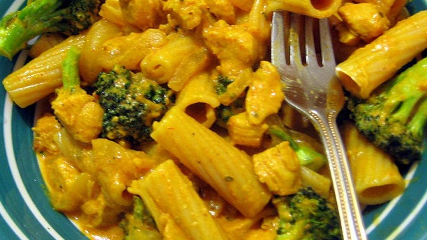 کری پاستا<br/>Curry Pasta