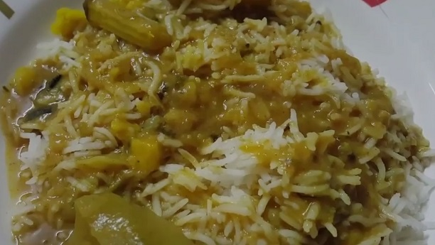 Daal Palida Khichri Recipe