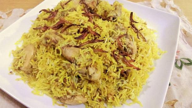 Dam pukhta chicken plao Recipe