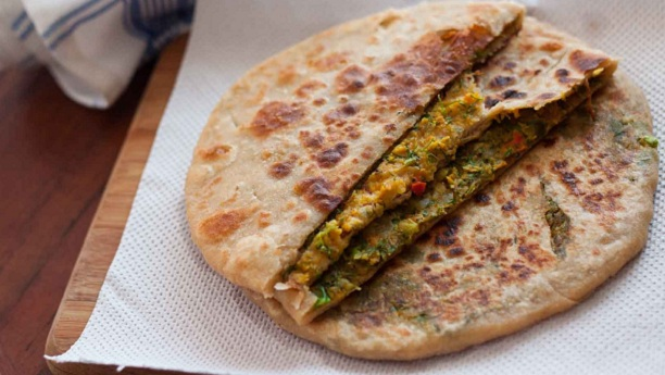 Diet Broccoli Paratha