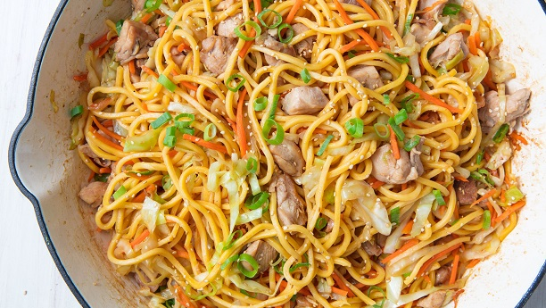 Easy Chicken Chow Mein Recipe | Chicken Recipes in English