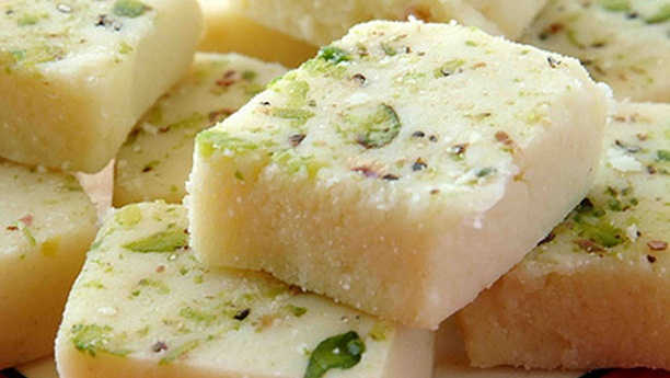 Easy Milk Burfi Recipe