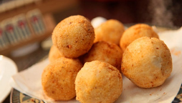 Easy POTATO CHEESE BALLS