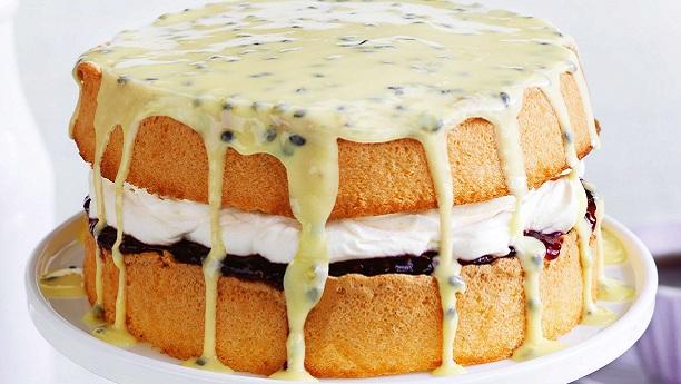 آسان اسفنج کیک