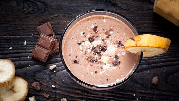 Everyday Chocolate and Banana Shake by Vikas Khanna