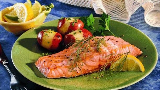 Fish steaks recipe by chef gulzar sea food recipes in for Fish steak recipe