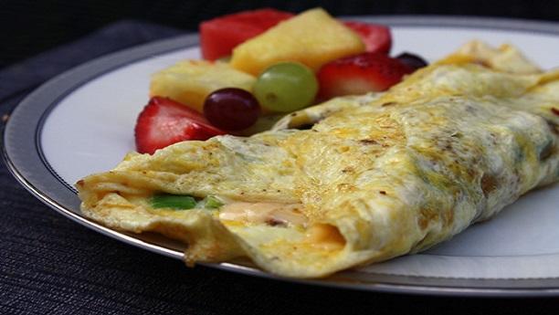 فلافی میکسیکن آملیٹ<br/>Fluffy Mexican Omelette