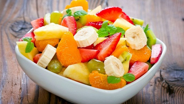 Fresh Fruit Chat by Aneela Rizwan