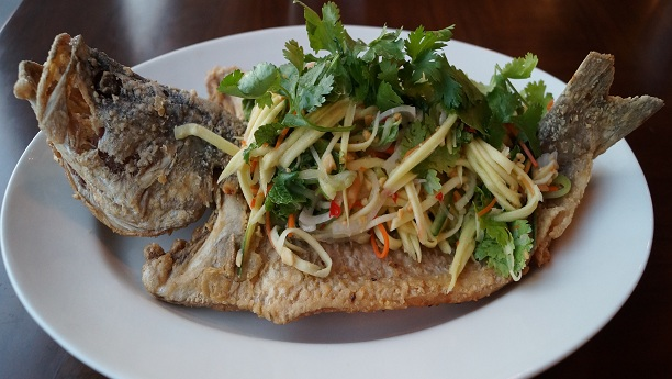Fresh Green Spicy Fish