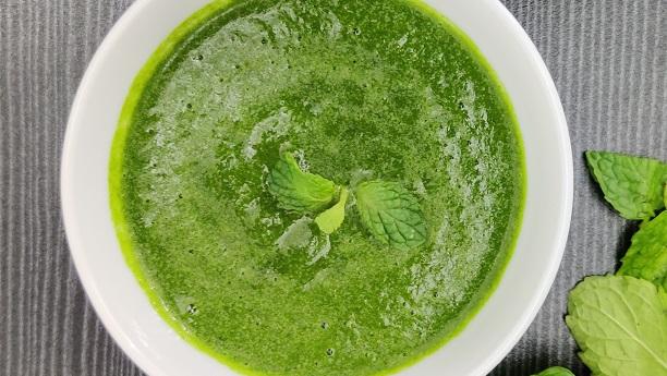 Fresh Herb Chutney 1  (Kothmir Pudina Ki Chutney)