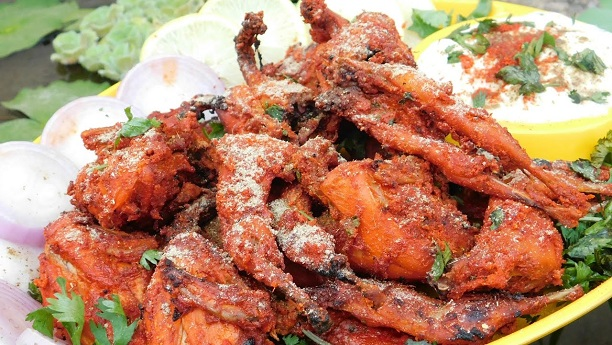 Fried Batairs or Quails Recipe