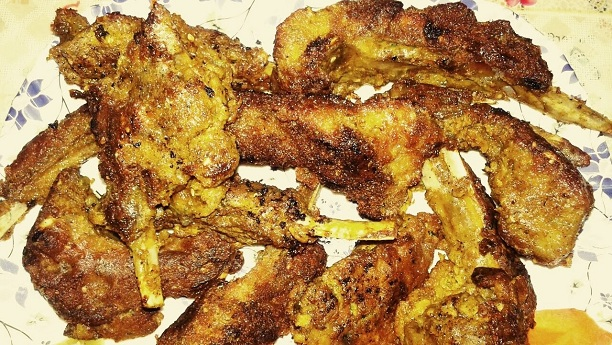Fried Mutton Chops Recipe
