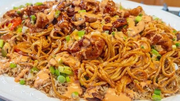 فرائیڈ رائس نوڈلز<br/>Fried Rice Noodles