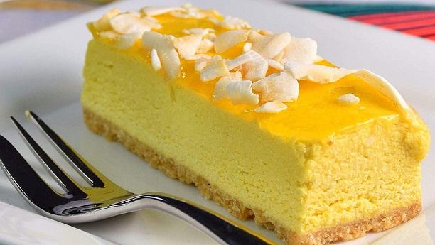 Frozen Mango Dessert