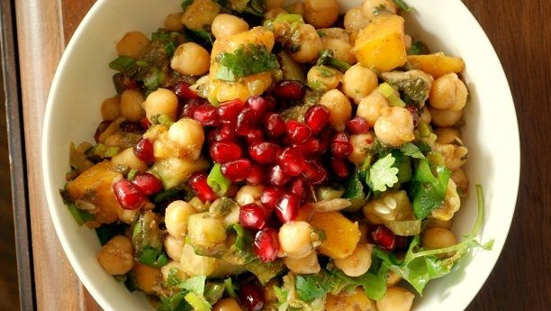 Fruit Chana Chaat Recipe