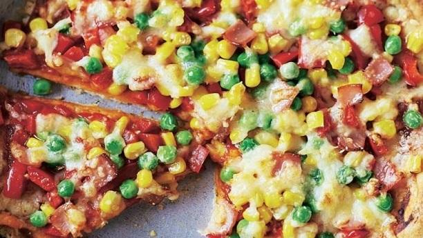 Frying Pan Pizza Recipe Kfoods Com