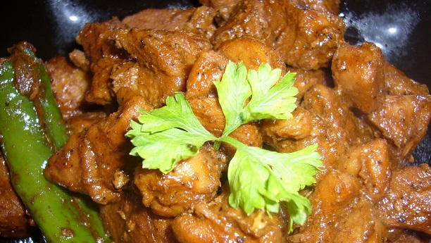 Ginger Mutton Curry