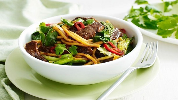 Ginger Thai Beef Stir Fry