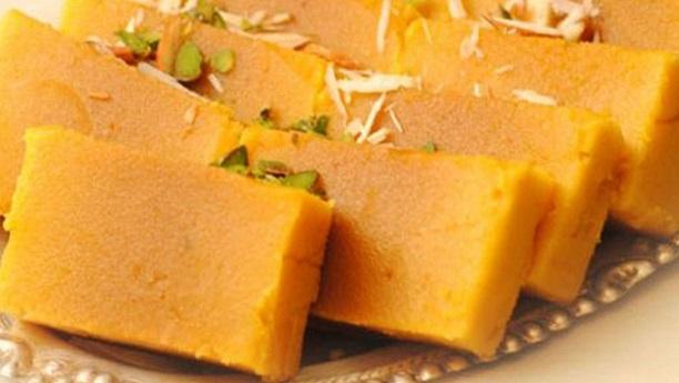 Gram Flour Sweet (Mysore Pak) Recipe
