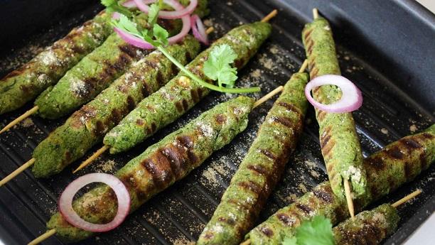 ہرے سیخ کباب