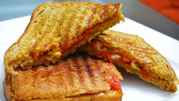 Grilled Potato & Onion Sandwich