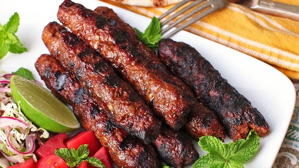 Grilled Seekh Kebabs