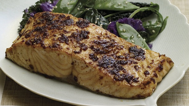 Grilled Thai Salmon Recipe
