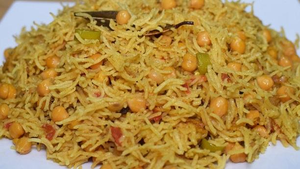 Hara Chicken Chana Pulao