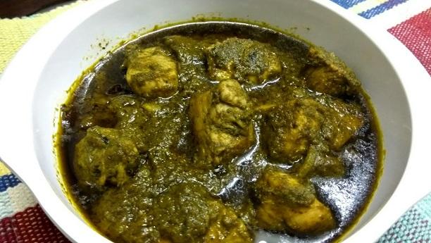 hara masala chicken stew recipe