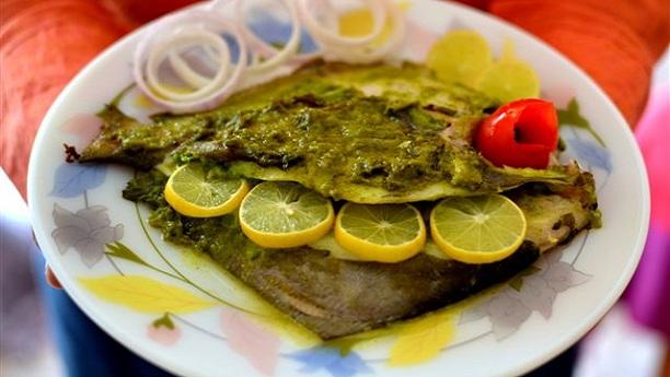ہرے مصالحے کی مچھلی