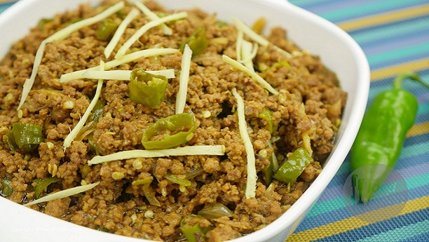 Hari Mirch Keema Recipe