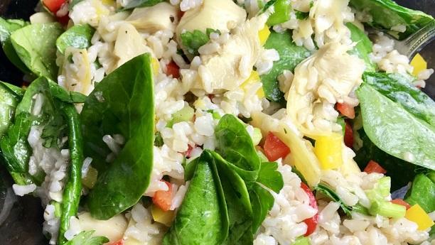Heart salad Recipe