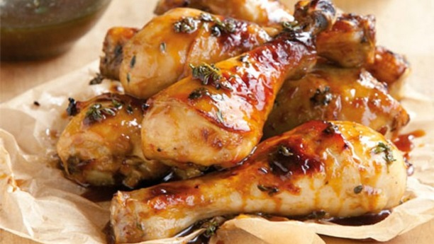 Honey Mustard BBQ Chicken