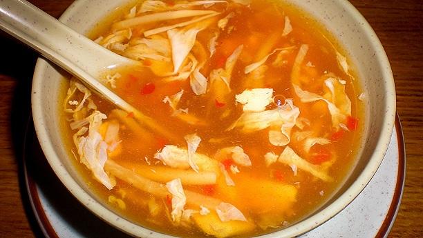 ہاٹ اینڈسار سوپ