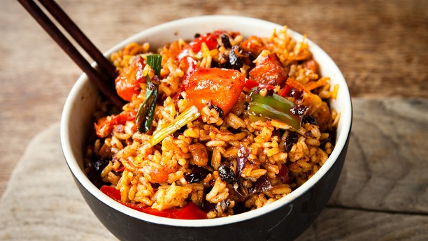Hot And Spicy Rice