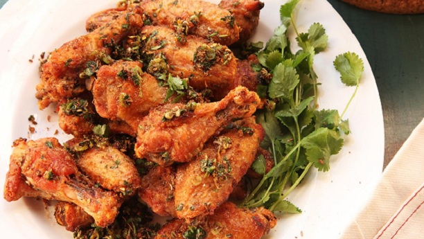 Hot Chilli Fried Wings Recipe