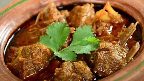 Hyderabadi Matka Gosht Recipe