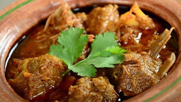 Hyderabadi Matka Gosht Recipe